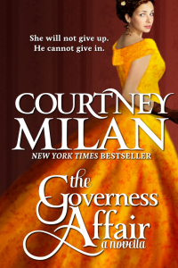 The Governess Affair cover