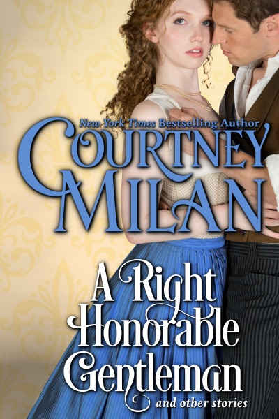 cover for a right honorable gentleman: a couple embracing