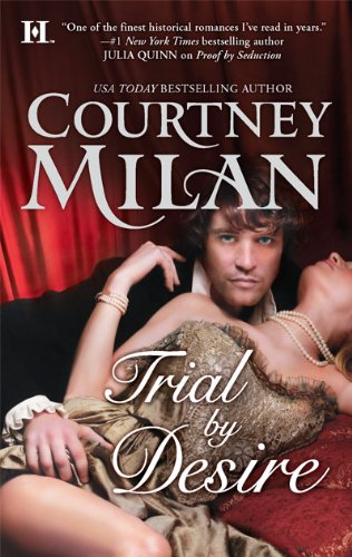 book cover for trial by desire