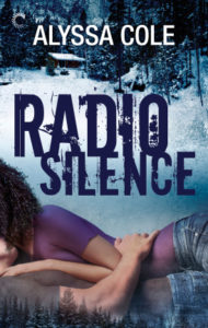 Image of Radio Silence by Alyssa Cole: A black woman and a white man on the cover embracing